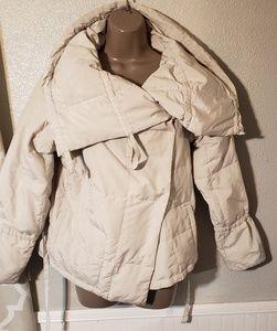 Max Mara weekend puffer coat sz 2 pumice color